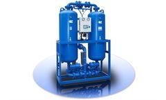 Heat & Heatless Decissant Air Dryer