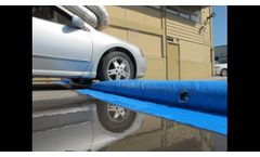 Premium Oval Flood Barrier - Video