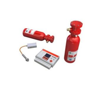 High Rate Discharge (HRD) System for Explosion Suppression