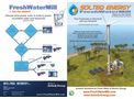 SolteQ - Free Freshwater & Electricity with one Windmill