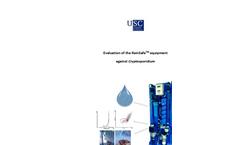 Cryptosporidium Results Brochure