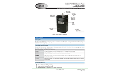 AirChek - Model XR5000 - Air Sampling Pumps Brochure