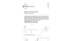 NX - Microfiltration Modules (MF) Brochure