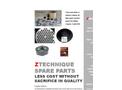 Ztechnique Spare Parts for Atlas Copco Oil Free Compressors Brochure