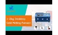 Mini Desktop Gold Melting Machine For Silver/Gold Smelting, Speedy Smelting Within 2min - SuperbMelt Video