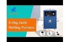 3-6kg Gold Melting Pot for Gold and Silver Smelting - SuperbMelt Video