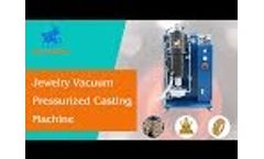 Jewelry Vacuum Pressurized Casting Machine for Gold And Silver Jewelry/Ornament Lost Wax Casting Video