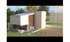 12kwh li-ion battery 3kw-5kw Grid-tied solar power home system