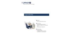 rqmicro - Legionella Pneumophila Kits Brochure