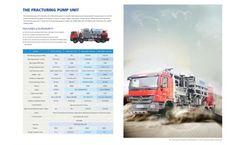Kerui - Model KTYL - Fracturing Pumper  Brochure