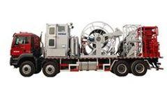 Kerui - Model KTLG - Truck Mounted Coiled Tubing Unit