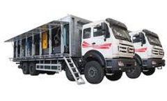 Kerui - Model MZD - Onshore Truck Mounted Membrane Separation Nitrogen Generation Unit
