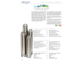 Soggia 4FR 4 inch Borehole Pumps - Brochure
