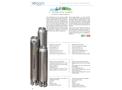 Soggia 6FR 6 inch Borehole Pumps - Brochure