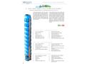 Soggia 6GS 6 inch Cast Iron Semi-Axial Borehole Pumps - Brochure