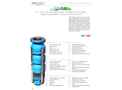 Soggia 10GS 10 inch Cast Iron Semi-Axial Borehole Pumps - Brochure