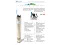 Soggia 4M 4 inch Oil Filled Rewindable Sumbersible Motors - Brochure
