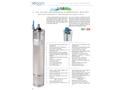 Soggia 6M 6 inch Oil Filled Rewindable Sumbersible Motors - Brochure