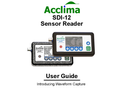 Acclima SDI-12 Sensor Reader User Guide