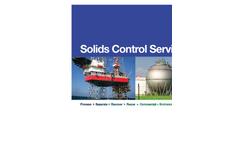Solids Control Services (SCS) Company Profile Brochure