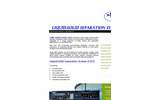 Liquid:Solid Separation System ~ Brochure