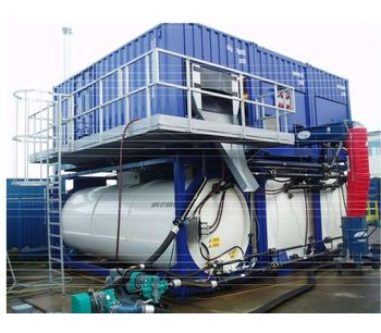 SCS - Sludge Dewatering and Oil Recovery Plant