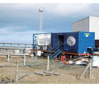 SCS - Mobile Sludge Dewatering and Oil Recovery System