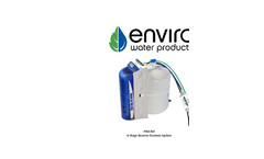 Enviro - Model PRO-RO - Six Stage Reverse Osmosis System Brochure