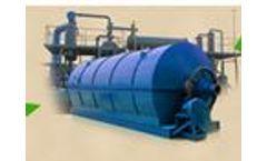 Plastic to Oil Pyrolysis Plant
