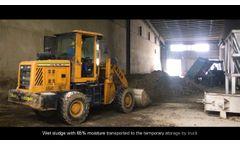 Project Site: Shandong Longda Medical/Pharmaceutical sludge drying