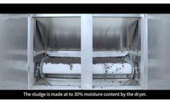 Sewage Sludge Drying With Belt Dryer