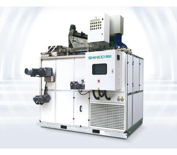 Shincci - Model LTDD Series - Dewatering and Drying Sludge Dryer