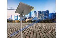 Jaste - Solar Power WiFi Wireless IP CCTV Monitor Remote Security Camera System