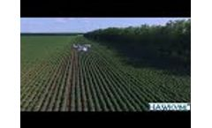 Agricultural Drone Fuel Power Farming UAV Crop Spraying Drone Max Load 60KG 30 Liters Video