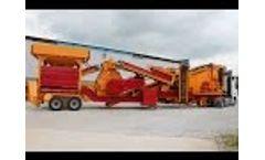 G-MTK 130 Mobile Tertiary Crusher Video