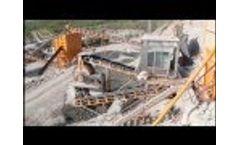 Crushing Plants Chrome Mine Fethiye Video
