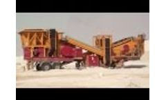 Crushing Screening Plant General 01 Video