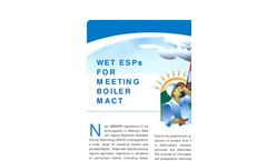 Wet ESPs for Meeting Boiler MACT - Technical Paper