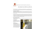 Ultra-High Efficiency Filter (UHF) System Brochure