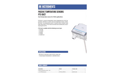 HK Instruments - Model PTE-Duct - Duct Temperature Sensor for HVAC Applications Brochure