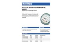 HK Instruments - Model DPG - Standard Pressure Gauge Brochure