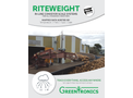 Riteweight - In-Line Conveyor Scale Systems - Brochure