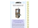 AeroFid - Model 60 - Automatic Micro Leak Detector for Filled Aerosol Cans - Brochure
