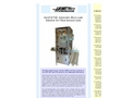 AeroFid - Model 100 - Automatic Micro Leak Detector for Filled Aerosol Cans - Brochure
