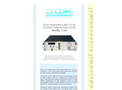 J.U.M. - Model 3-500 - High Temperature Total Hydrocarbon Analyzer - Brochure