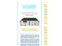 J.U.M. - Model 3-600 - Heated FID Total Hydrocarbon Analyzer - Brochure