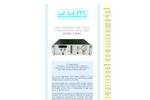 J.U.M. - Model 3-300A - High Temperature Total Hydrocarbon Analyzer - Brochure