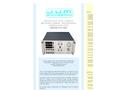 J.U.M. - Model 109A - Continuous Total Carbon/Methane Carbon/Non Methane Carbon Analyzer Heated FID - Brochure