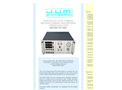 J.U.M. - Model 109A - Continuous Total Carbon/Methane Carbon/Non Methane Carbon Analyzer Heated FID - Brochure