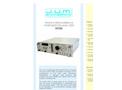 J.U.M. - Model H100 - Trace Hydrocarbon in Hydrogen FID-Analyzer - Brochure